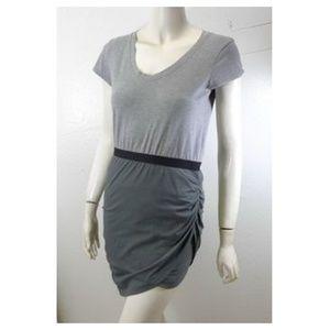 THEORY - NWOT Colorblock T-Shirt Dress - Gray